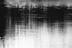 Abstract water lines Stock Image