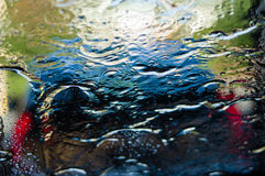 Abstract water reflection for background Royalty Free Stock Photo