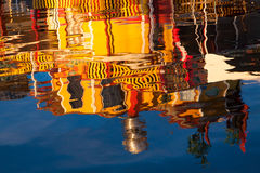Abstract water reflection Royalty Free Stock Image