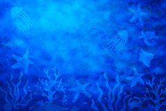 Abstract Water Sea Life Background Royalty Free Stock Photos