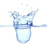 Abstract water splash stock photo