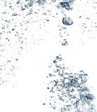 The abstract water splash Royalty Free Stock Photos