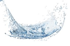 Abstract water, splash royalty free illustration