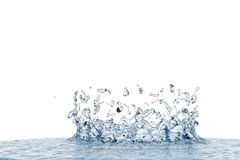 Abstract water, splash Royalty Free Stock Photography