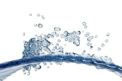 Abstract water, splash Royalty Free Stock Photo