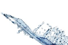 Abstract water, splash Royalty Free Stock Image