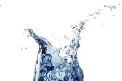 Abstract water, splash Stock Photo