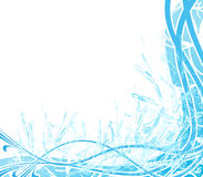 Abstract water splash background stock photography