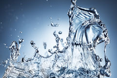 Abstract water splash Royalty Free Stock Images