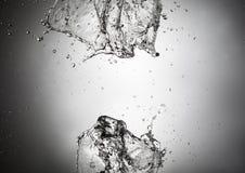 Abstract water splash Royalty Free Stock Photos