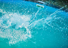 Abstract water splash. Stock Photos