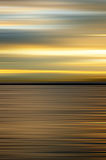 Abstract water sunset Stock Images