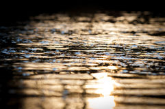Abstract Of Water Surface Royalty Free Stock Images