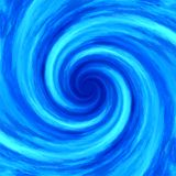 Abstract water swirl whirlpool spiral background Stock Images