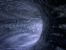 Abstract Water tunnel. Surf wave concept Stock Photo