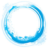 Abstract water wave Stock Photography