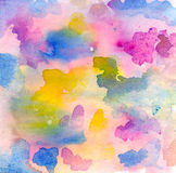 Abstract watercolor Royalty Free Stock Photography