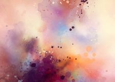 Abstract watercolor. Drawing on a paper image vector illustration