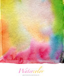 Abstract watercolor and acrylic painted background. Stock Images