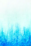 Abstract watercolor aqua blue background Stock Photography