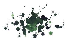 Abstract watercolor aquarelle hand drawn dark Royalty Free Stock Photo
