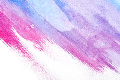 Abstract watercolor art Royalty Free Stock Images