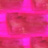 Abstract watercolor and art brown pink seamless Stock Images