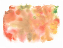 Abstract watercolor art hand paint. Soft colored abstract background for design. Watercolor texture. Stock Photography