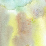 Abstract watercolor art hand paint. Watercolor texture. Gouache stains, blots, spots. Stock Photography