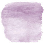 Abstract watercolor art hand paint on white background Stock Images