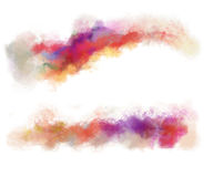 Abstract watercolor background. Colorful abstract watercolor brush strokes, background