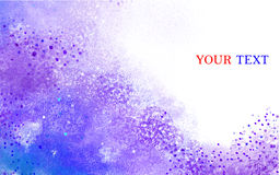 Abstract watercolor background Stock Photography