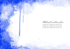 Abstract watercolor background. For your design Royalty Free Stock Photos