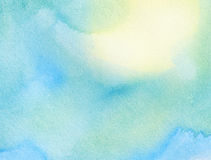 Abstract watercolor background. Abstract colorful watercolor background Royalty Free Illustration