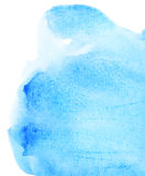 Abstract watercolor background. Abstract blue watercolor background is on a white Vector Illustration