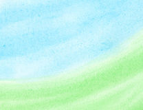 Abstract watercolor background. Abstract blue, green watercolor background Stock Photos