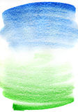 Abstract watercolor background. Abstract watercolor hand painted background Stock Illustration