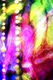 Abstract watercolor background with bokeh lights.  Vector Illustration