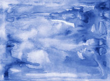 Abstract watercolor background color Stock Image