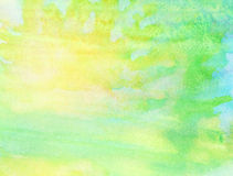 Abstract watercolor background. Abstract colorful watercolor background Stock Photo