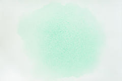 Abstract watercolor background. Delicate shades of tender green spring colors, hand-drawn, paper texture. Artwork for Stock Photography