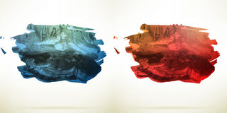 Abstract Watercolor background. EPS 10 Royalty Free Stock Photo