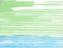 Abstract watercolor background green and blue Royalty Free Stock Photos