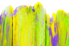 Abstract watercolor background, hand painted brush stroke. Abstract watercolor background, hand free painting. Created in Chiang Rai, Thailand Royalty Free Stock Image