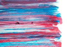 Abstract watercolor background, hand painted brush stroke. Abstract watercolor background, hand free painting. Created in Chiang Rai, Thailand Royalty Free Stock Photo