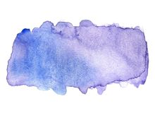 Abstract watercolor background. royalty free stock images