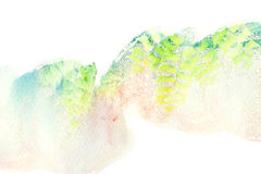 Abstract watercolor background. Abstract watercolor illustration. Watercolor painting on paper. Abstract background Stock Images