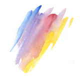 Abstract watercolor background. Royalty Free Stock Photography