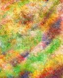 Abstract watercolor background. Mixed media Stock Photography