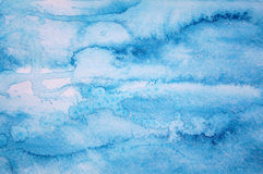 Abstract watercolor background on paper texture royalty free stock photography